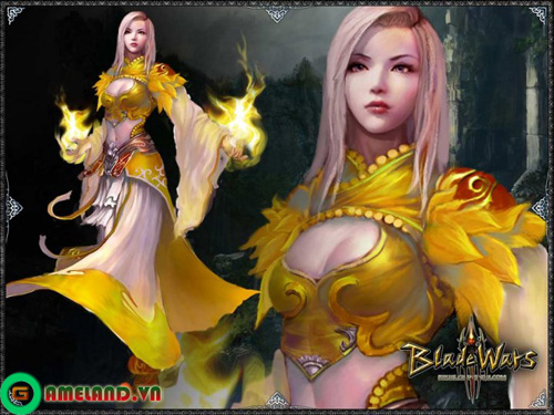 "Blade Wars, Beach Volleyball Online ""rủ nhau"" open beta 1"