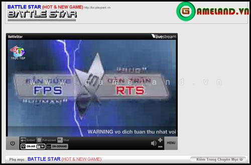 Battle Star ra mắt kênh truyền hình @TV BattleStar Online 3