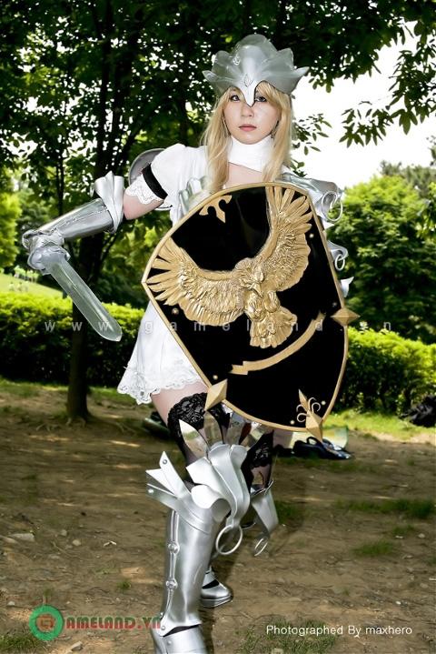 Rạng rỡ cùng cosplay nữ chiến binh Mabinogi Heroes 5