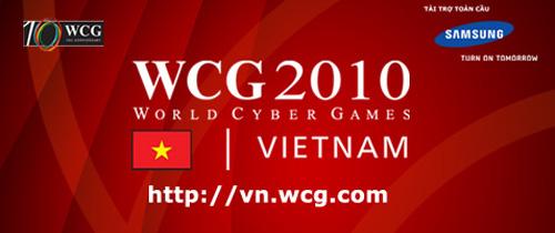 World Cyber Games Việt Nam 2010 công bố lộ trình thi đấu 2