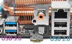 Mainboard hỗ trợ cổng USB siêu tốc 2