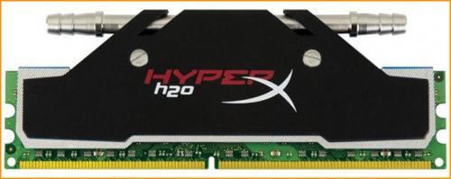 Kingston trang bị tản nhiệt nước cho RAM HyperX DDR3 3