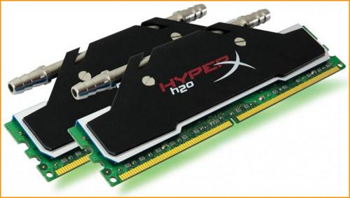 Kingston trang bị tản nhiệt nước cho RAM HyperX DDR3 4
