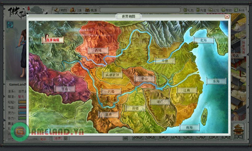 Hướng dẫn đăng ký webgame Ngạo Tiên (Trung Quốc) 18