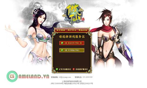 Hướng dẫn đăng ký webgame Ngạo Tiên (Trung Quốc) 5