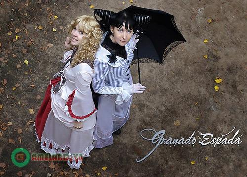 Vẻ đẹp ma thuật mê hoặc của cosplay Granado Espada 9