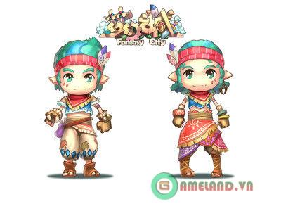 Webgame Fantasy City: Mộng Ảo Chi Thành 5