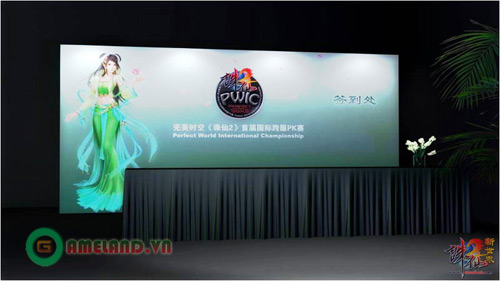 Tru Tiên lộ diện hình ảnh khu vực thi đấu PK quốc tế 4