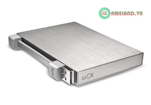 LaCie công bố ổ cứng di động nhỏ nhất thế giới 7