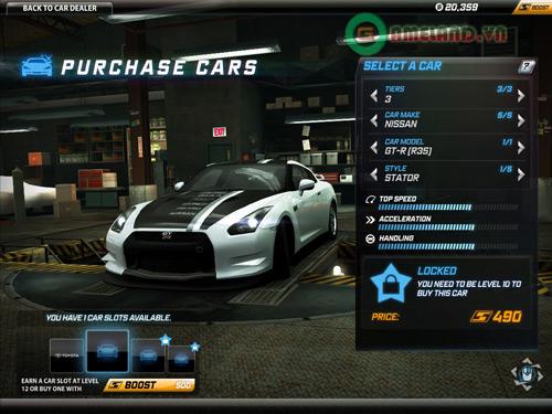 Khám phá thế giới Need for Speed World qua ảnh 2
