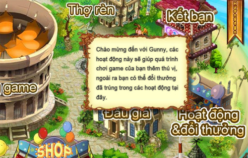 Xứ sở Game Online tặng 500 Giftcode Gunny Online 2