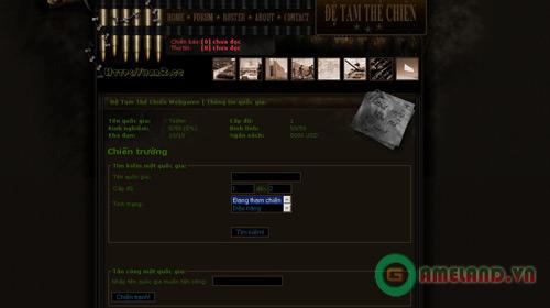 Webgame Đệ Tam Thế Chiến sẽ không thương mại hóa 2