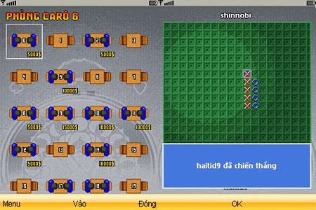 Ongame Mobi đưa cờ caro lên điện thoại di động 2