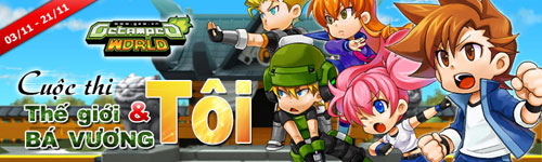 """Asiasoft phát động cuộc thi """"Thế giới Bá Vương & Tôi"""" 2"""