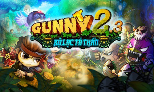Xứ sở Game Online tặng 500 Giftcode Gunny 2.3 1