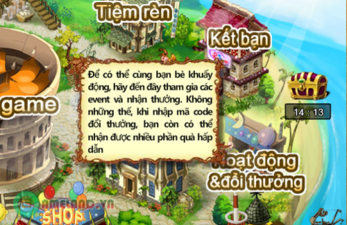 Xứ sở Game Online tặng 500 Giftcode Gunny 2.3 2